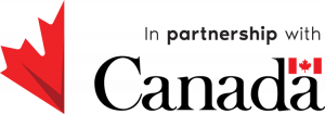 in partnership with Canada logo